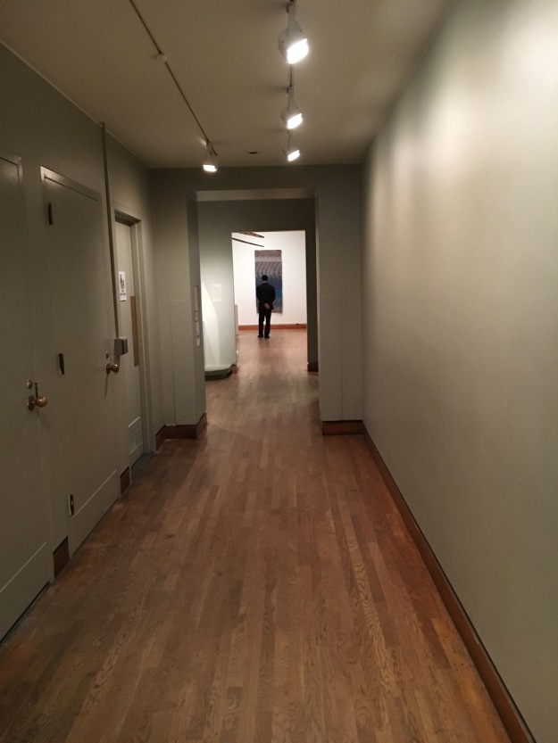 American Art Hallway